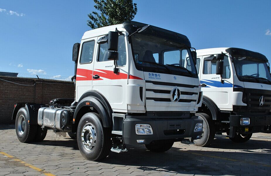 Beiben 2542 tracteur camions 420 Hp engine supplier from china
