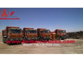 used benz technolgy 12 wheeler beiben dump trucks manufacturer