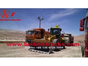 beiben 12 routes camions benne 50 Ton loading capacity manufacturer