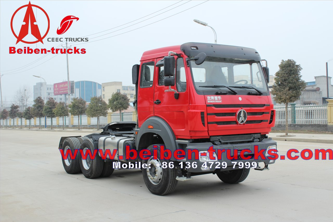 North BENZ BEIBEN 420hp tractor truck & prime mover  for congo customer