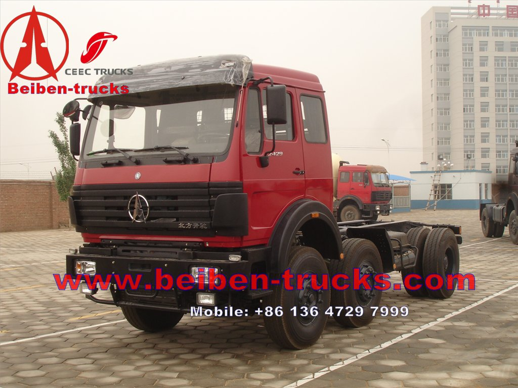 Best Selling In Africa BEIBEN 2534 Tractor Truck For Sale