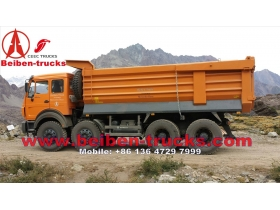 Beiben NG80 12 wheeler 400 hp dump trucks for congo