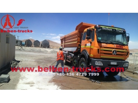 best china manufacturer beiben 12 routes camions benne 50 Ton loading capacity