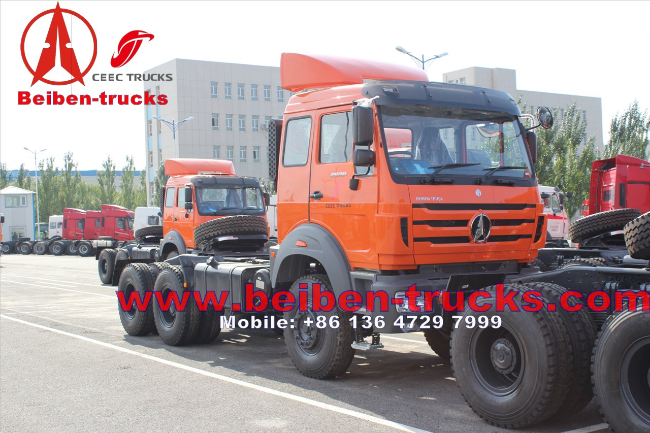 Benz Tractor Truck/Prime Mover 380hp/420hp 40tons Mercedes Benz Technology Tractor supplier for congo
