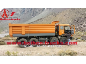 north benz 8x4 400 hP camions benne manufacturer china