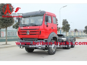 North Benz BEIBEN Tractor Head 60Tons with WEICHAI engine 380hp 420hp Tractor Truck from baotou beiben plant