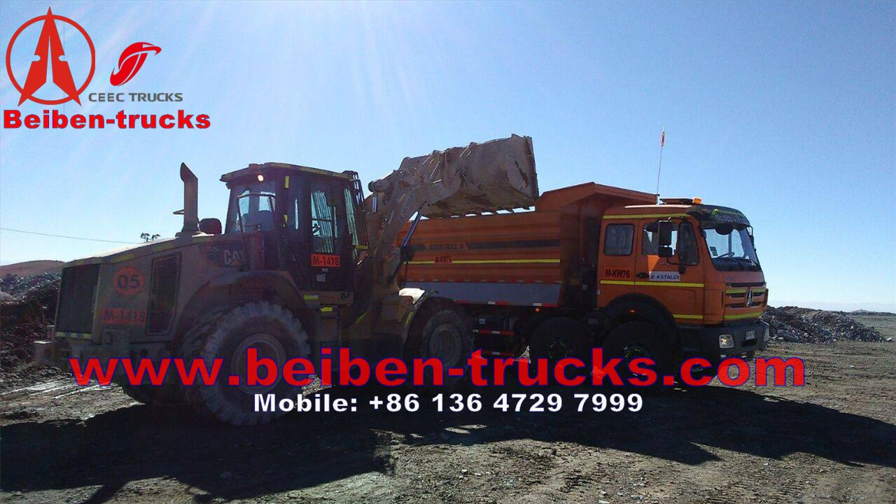 used beiben 3138 heavy duty dump truck from chian baotou beiben