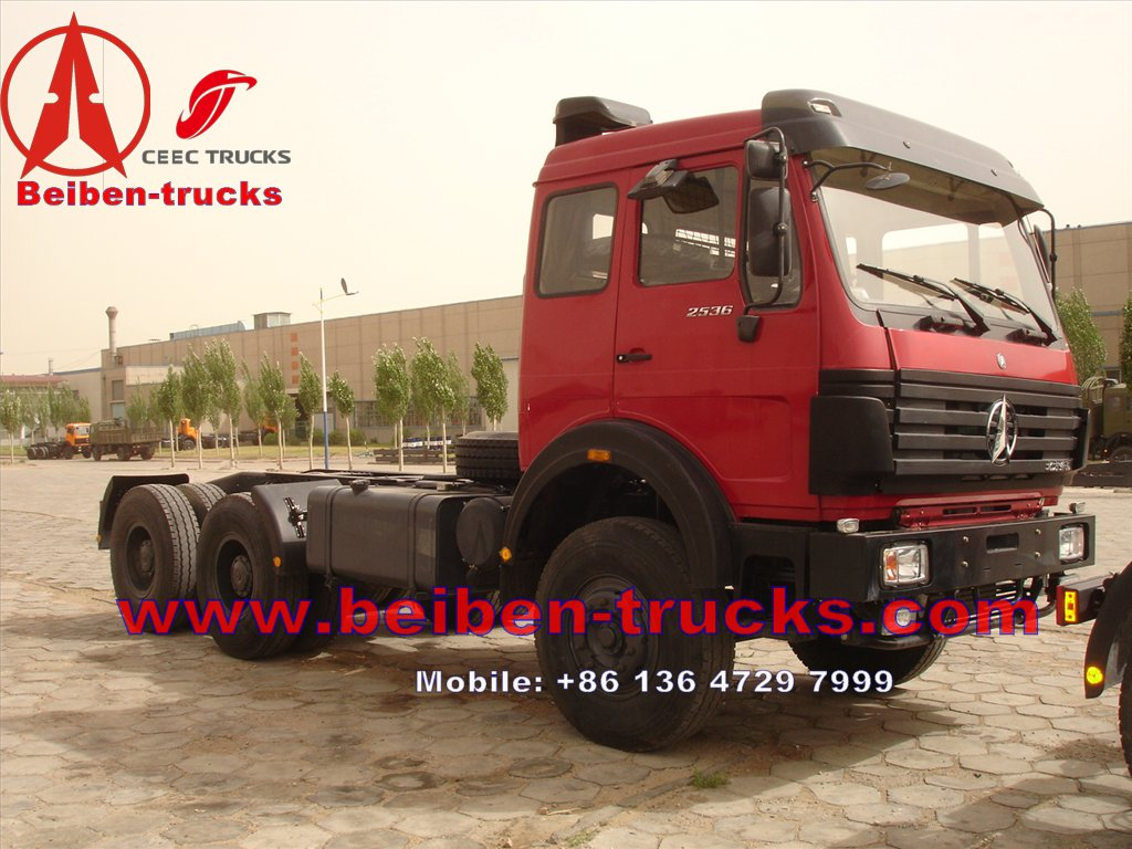 china Lowest Price Beiben 6x4 Beiben Tractor Truck  for africa customer