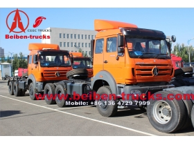 china North Benz Tractor Head RHD 380hp/420hp with WEICHAI engine Fuller Gear box