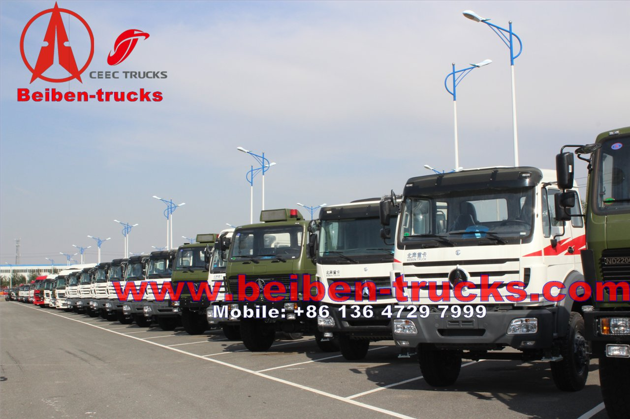 china Beiben 6x4 Prime Mover 420hp 50ton ND4253B34J manufacturer