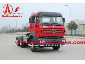 china World Famous North Benz tractor Truck with Mercedes Benz tractor truck technology 420hp Tractor truck with WEICHAI engine