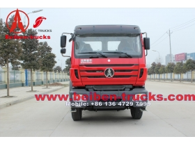 6x4 North Benz BEIBEN natural gas LNG CNG tractor truck 330hp  manufacturer in china
