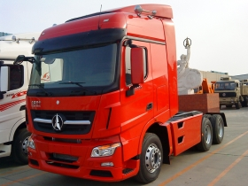 cheap North Benz Tractor Truck 6x4 336-480hp Euro 3 Tractor Truck