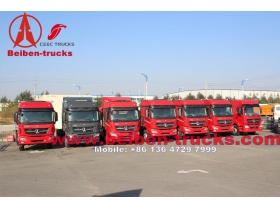 china manufacturer North benz beiben V3 6X4 tractor head truck 340hp mercedes benz truck