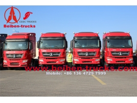 Beiben 6x4 420hp Mercedes Benz Technology North Benz/Beiben tractor truck  from baotou plant