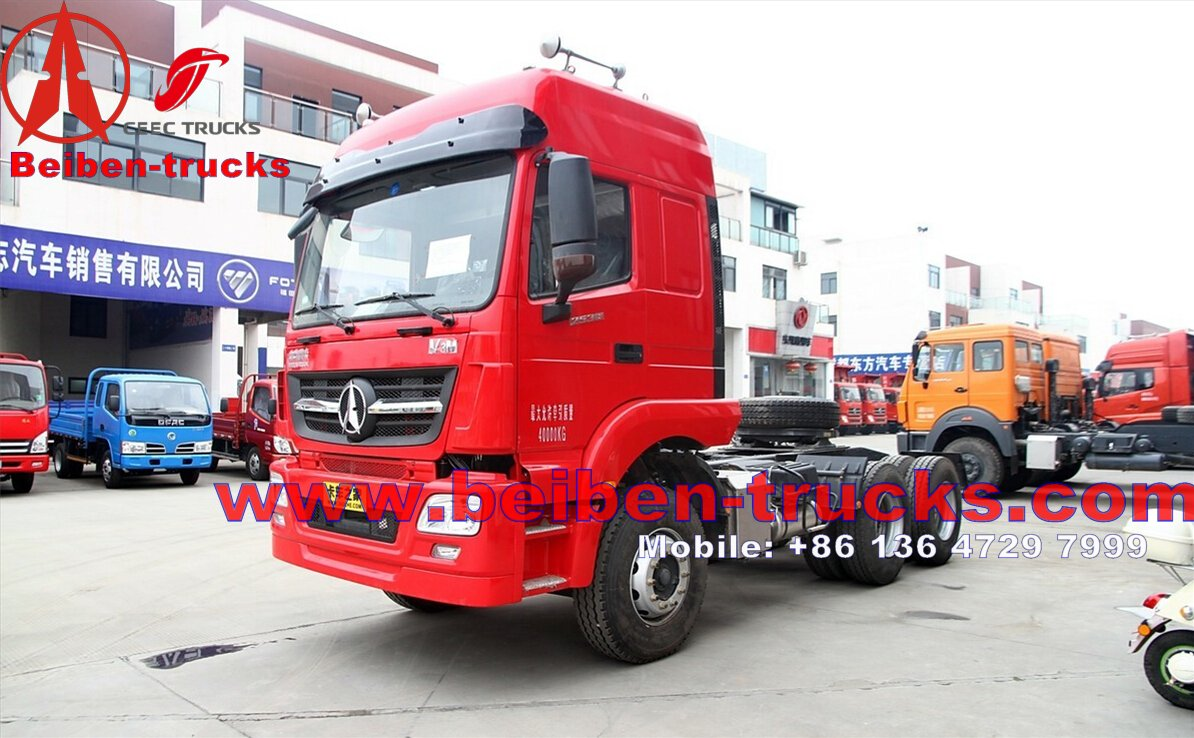 cheapest price for North Benz V3 6x4 480hp EURO 3 Tractor Truck/Beiben Used Trucks For Sale
