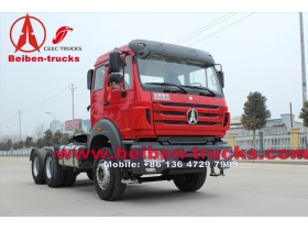The 380HP Tractor Head Beiben Prime Mover for congo pointe noire