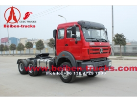 china used The Beiben Tractor Truck with 12JS200T Transmission Specially for the Africa