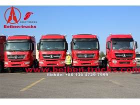 used Beiben 6x4 340hp Mercedes Benz Technology North Benz/Beiben tractor truck from china