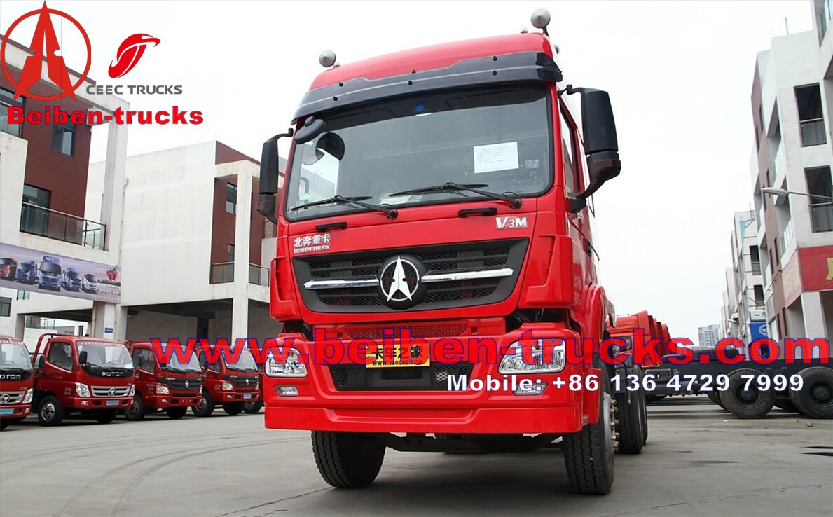 india supplier for beiben north benz tractor truck