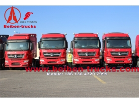 North Benz 6x4 380hp Beiben LHD Truck Head  supplier from china