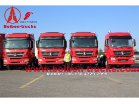china Beiben 6x4 420hp Mercedes Benz Technology North Benz/Beiben tractor truck for africa customer