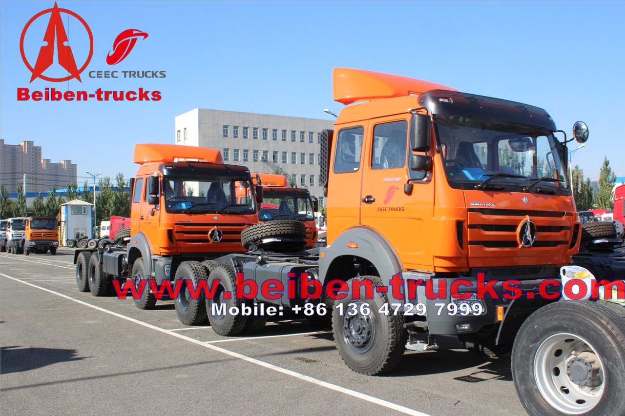 china price for Beiben NG80 Series 6x4 Tractor Truck In Low Price Sale /Mercedes Poland