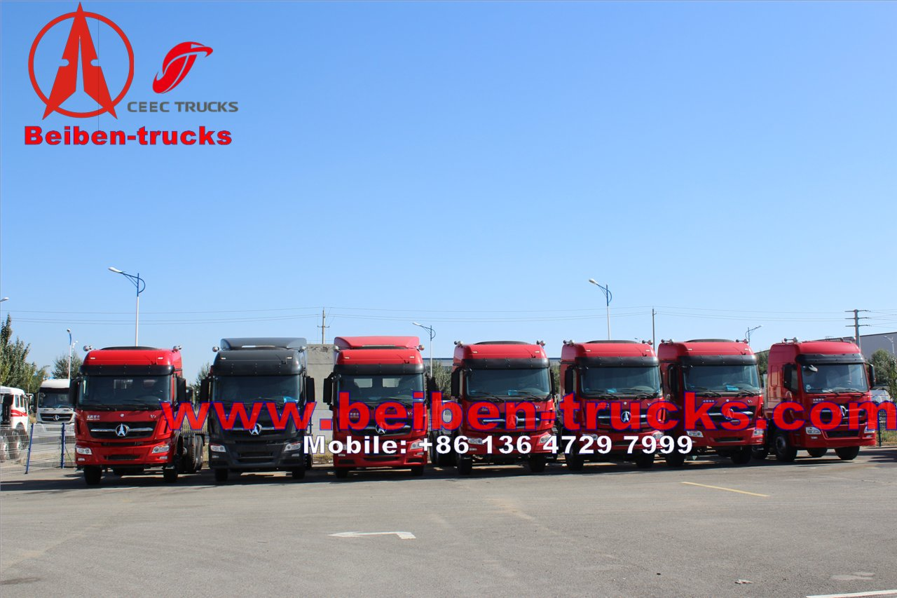 used Mercedes benz Technology Beiben 6x4 tractor truck price
