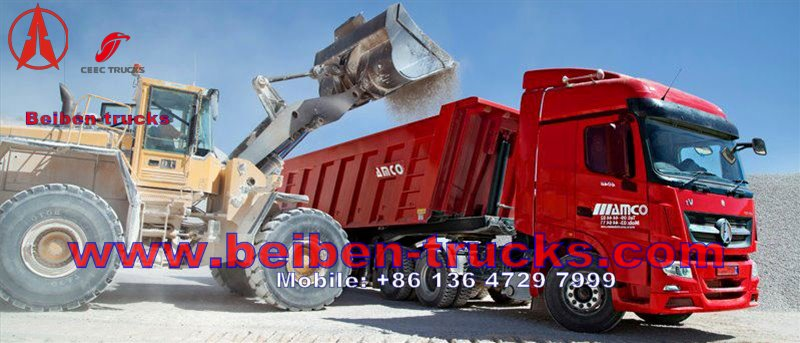 Mercedes Benz Technology North Benz Weichai Engine 336-480hp Tractor Truck  price