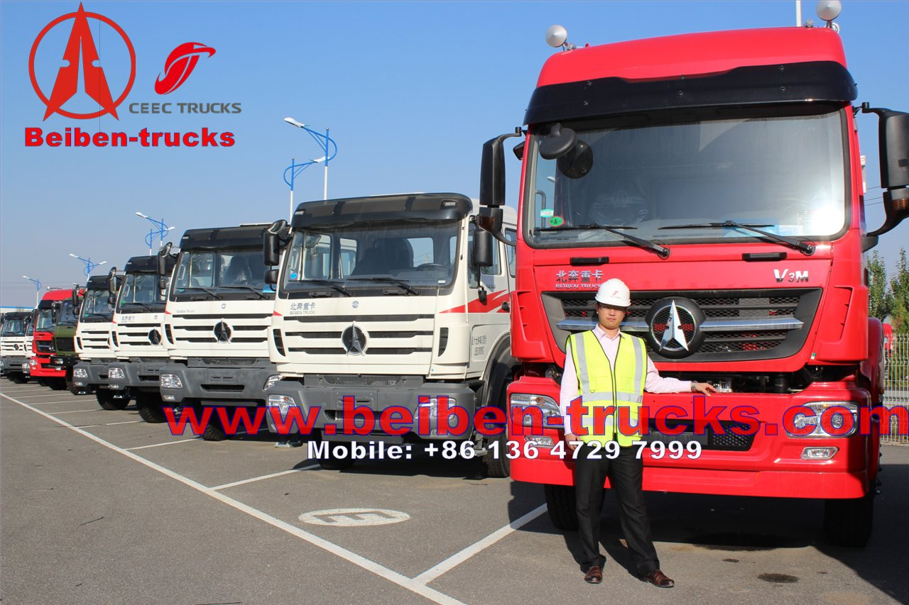 china baotou North Benz V3(2011model) 290hp (WEICHAI engine) 6x4 EURO III tractor truck