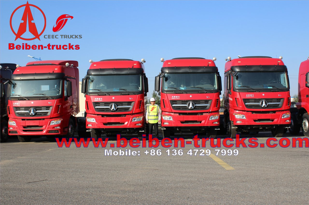 best price Beiben 6x4 340hp Mercedes Benz Technology North Benz/Beiben tractor truck  in china