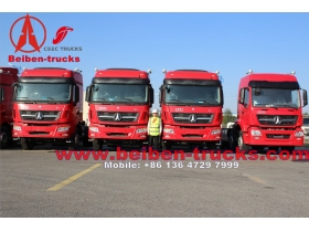 used North Benz Weichai Engine 270-480hp 6x4 North Benz Tractor Truck  for sale