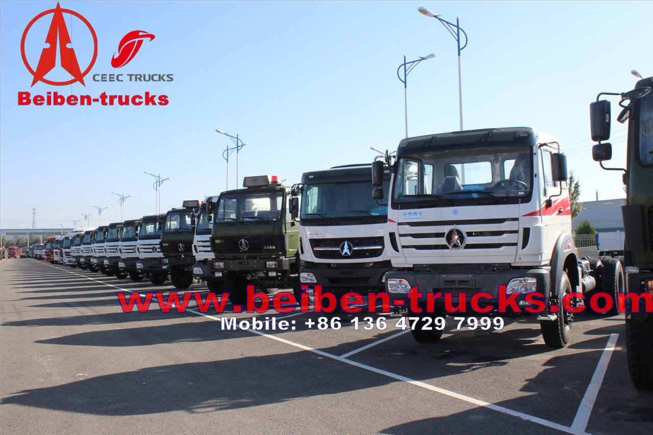 china manufacturer Mercedes Benz Beiben 6x4 400hp Tractor Truck 2640SZ
