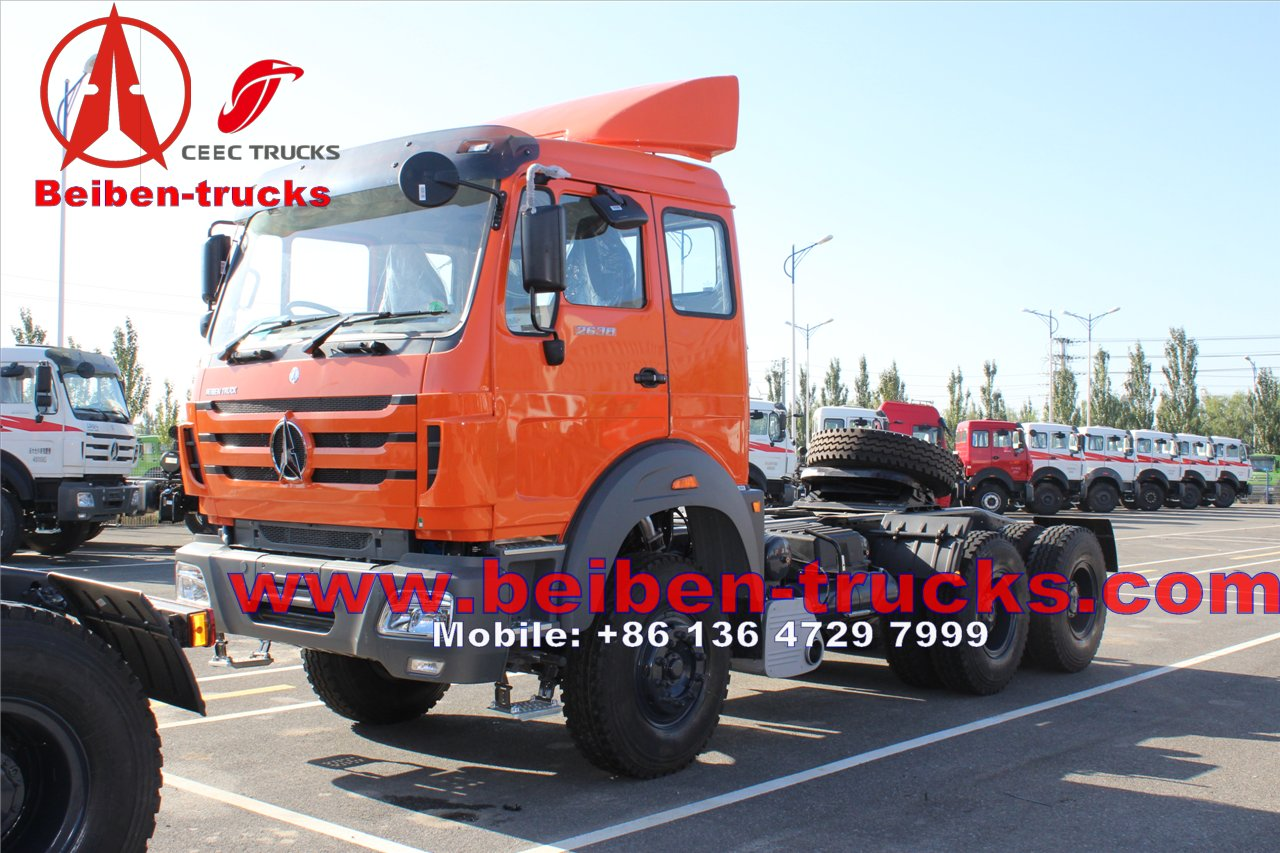 china North Benz Beiben 6x4 340hp tractor truck, prime mover, trailer truck