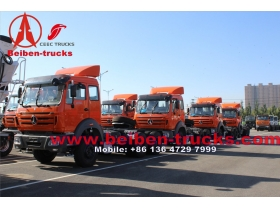 Beiben 6x4 340hp-420hp Tractor Truck Price from china