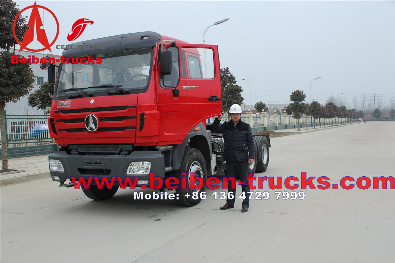 china Beiben NG80 6x4 Tractor Truck In Low Price Sale /Tractor Tire