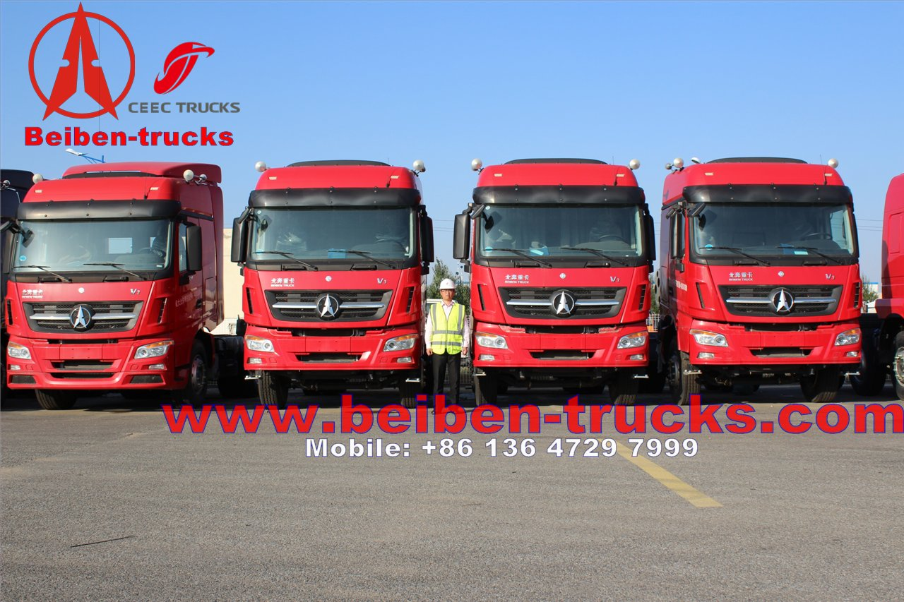 best price for Beiben V3 SY 2534SY Tractor Truck 6x4 With Certification Iso,336hp