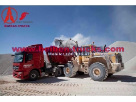 china supplier for Beiben V3 6x4 340hp Left Hand Driving Tractor Truck