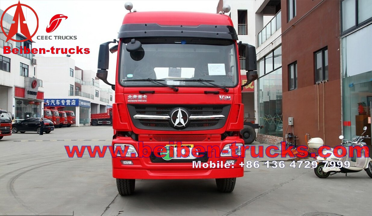 Beiben 6x4 375hp V3 SZ Series Mini Tractor Trailer Truck supplier in china