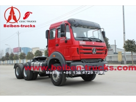 Hot Selling Beiben / Power Star Trailer Tractor Truck Camion Prime Mover with WD Engine For Congo