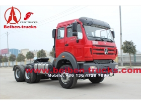 china New Hot Selling Beiben / Power Star Trailer Tractor Truck Camion Prime Mover with WD Engine For Africa Market
