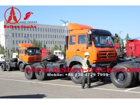 china north benz tractor 6x4 beiben heavy truck price