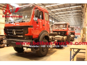china Beiben north benz 6x4 tractor truck