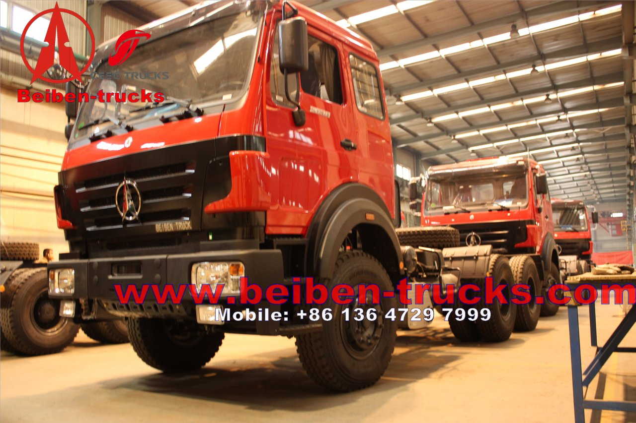 china BeiBen NG80 6x4 International Tractor Head for sale
