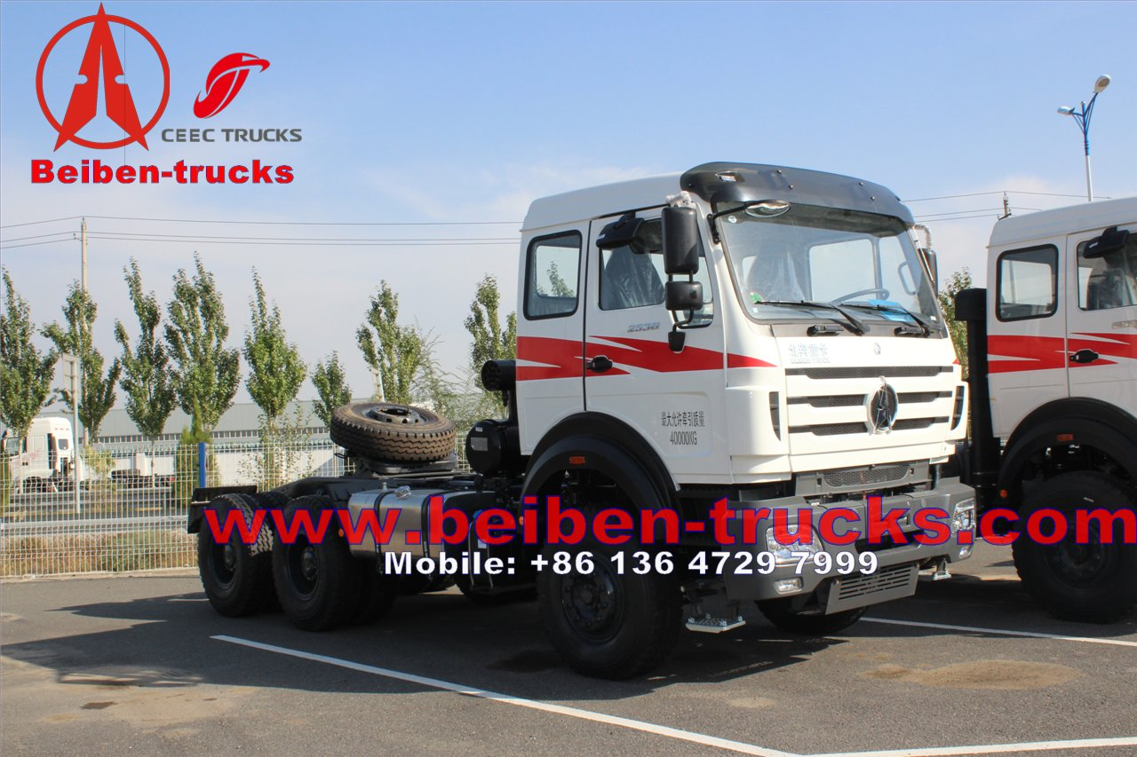 chinaThe Best Quality 6X4 Tractor Head Beiben Lowest Price Prime Mover