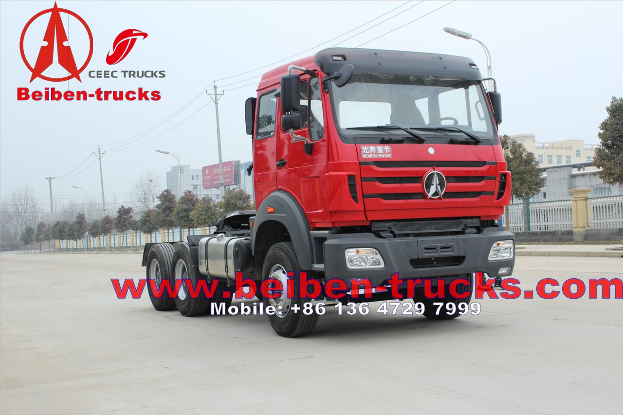 best supplier Supply Mercedes benz technology China brand Beiben NG80 Tractor Truck