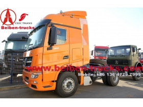 Beiben V3 6x4 Weichai Engine 336hp Tractor Truck supplier for africa