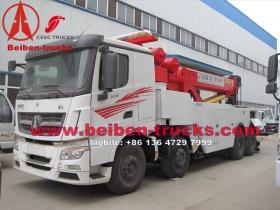 Beiben V3 cabin benz technology wrecker truck manufacturer