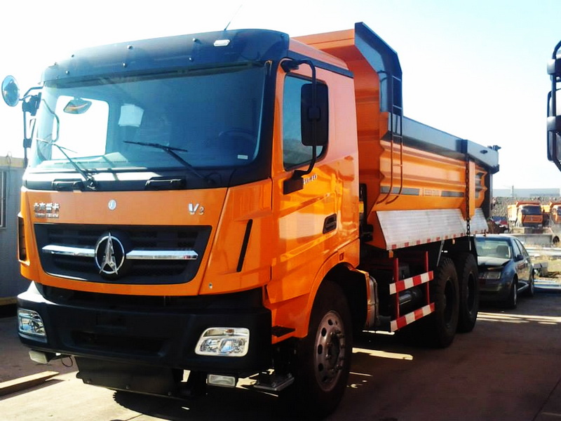 china Beiben V3 2538 dump truck north benz brand