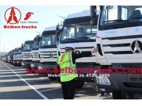 cheap Beiben New  2638Tractor Truck For Congo